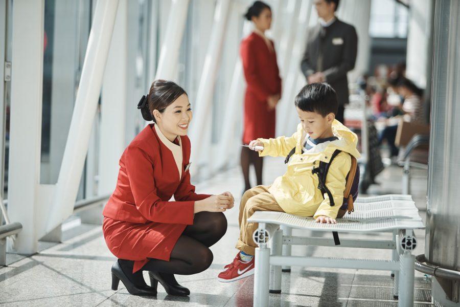 Image result for Quy định hành khách là trẻ em khi đi máy bay